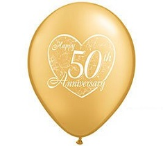 50th Anniversary Gift Guide