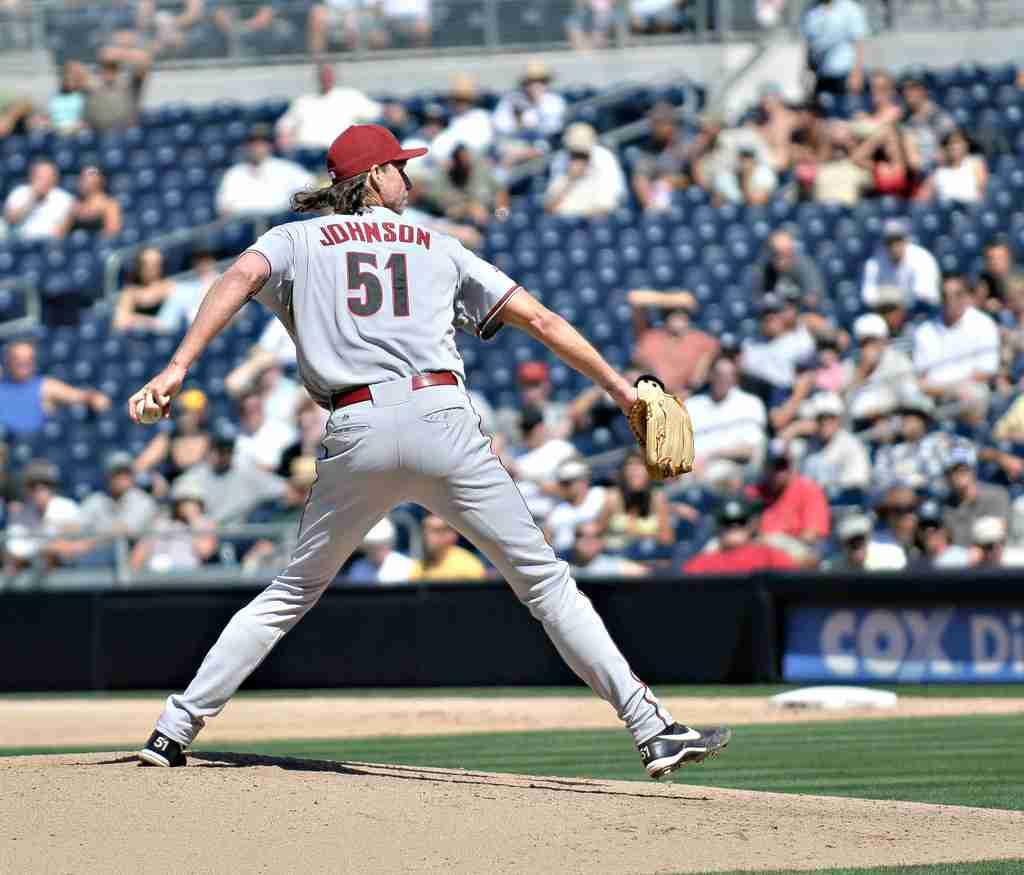 best lefthanded pitchers randy johnson