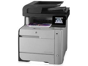 HP M476nw LaserJet Pro Wireless Color Laser Multifunction Printer
