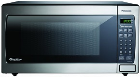 Panasonic 1250W 1.6 Cu. Ft. Countertop Microwave
