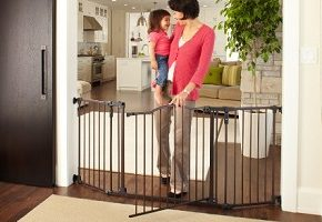 Supergate Deluxe Décor Metal Gate
