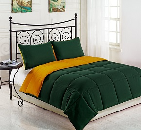 Cozy Beddings Goose Down Alternative Comforter Set