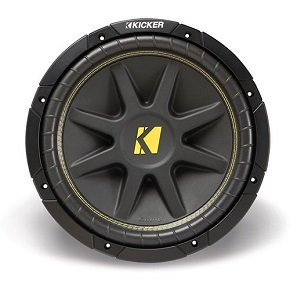 Kicker 10C104 Comp 10-Inch Subwoofer 4 Ohm 53