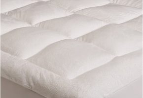 Pinzon Basics Overfilled Ultra Soft Microplush Mattress Pad