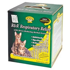 Precious Cat Respiratory Relief Clay Premium all Natural Cat Litter with Herbal Essences