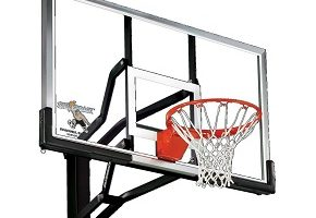Silverback In-Ground Basketball System with Tempered Glass Backboard