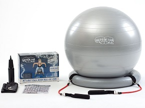 Superior Fitness 600lb Anti Burst Stability Exercise Ball
