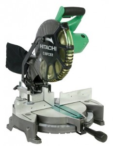 The Hitachi C10FCE2 15-Amp 10-inch Single Bevel Compound Miter