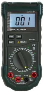 The Mastech MS8268 Digital AC/DC Auto/Manual Range Digital Multimeter