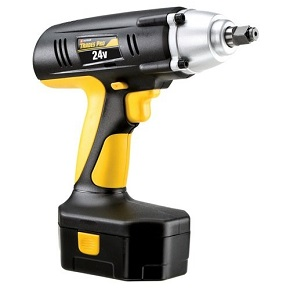 "Tradespro 837212 24-volt 1/2"" drive cordless"