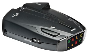 Cobra ESD7570 9-Band Performance Radar/Laser Detector with 360 Degree Detection