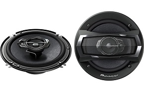 """Pioneer TS-A1675R 6-1/2"""" 3-Way TS Series Coaxial Car Speakers"""