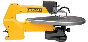The DEWALT DW788 1.3 Amp 20-Inch Variable-Speed Scroll Saw
