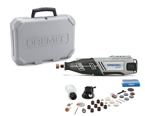 The Dremel 8220-2/28 12-Volt Max Cordless Rotary Tool