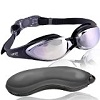 U-FIT Adult Swim Goggles with Case