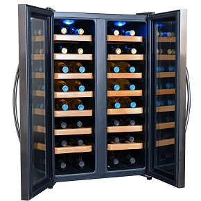 NewAir AW-321ED Thermoelectric Wine Cooler