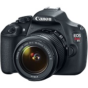 Canon EOS Rebel T5 EF-S 18-55mm IS II Digital SLR