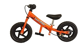 EZee Glider Kids Balance Bike Cro-Moly with Patented Slow Speed Geometry