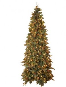 GKI Bethlehem Lighting Pre-Lit 6-1/2-Foot PE/PVC Christmas Tree