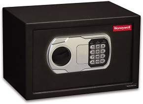 Honeywell Model 5101DOJ Approved Small Steel Security Safe