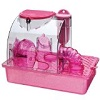 Penn Plax Pink Princess Hamster Cage