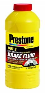 Prestone AS400 DOT 3 Synthetic Brake Fluid