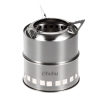 Ohuhu Potable Stainless Steel Wood Burning Camping StoveSolo Stove Lite