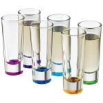 libbey-troyano-colors-shot-glass-set