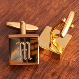 personalized-addison-high-polish-brass-cufflinks