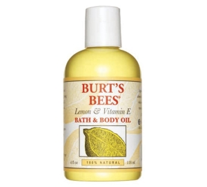 Burt's Bees Natural Lemon and Vitamin E Body and Bath Oil