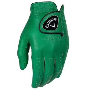 large Callaway Golf OptiColor Premium Full Color Leather Gloves