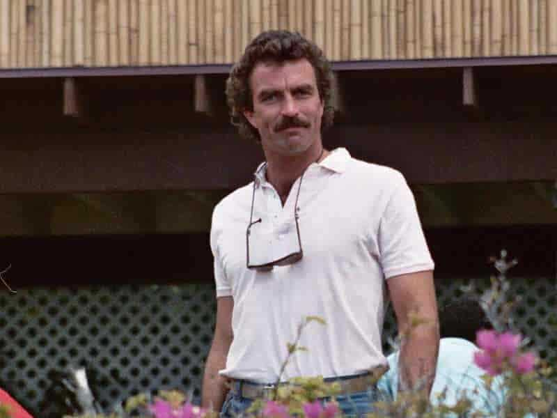 tom selleck best mustache all time
