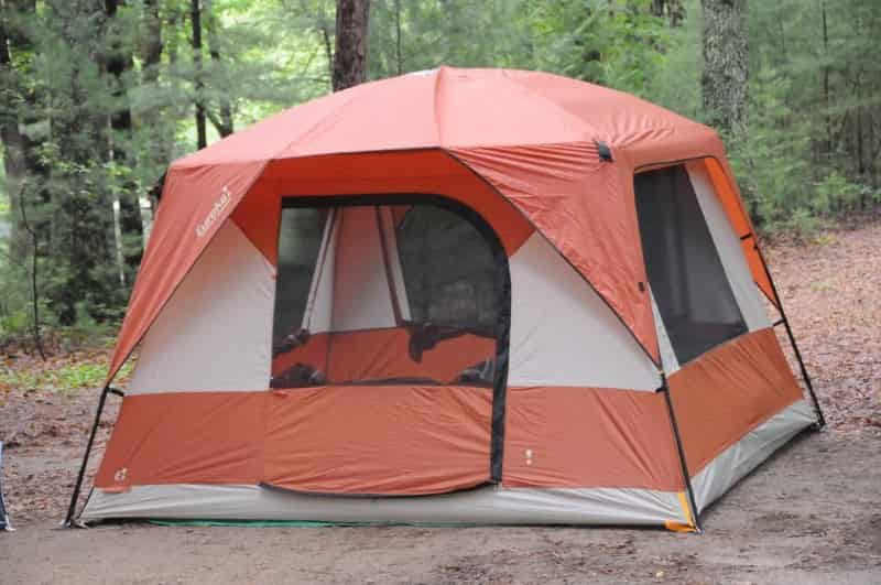 best places to go camping - tent