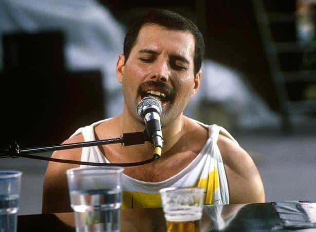 best rock singer of all time - mercury