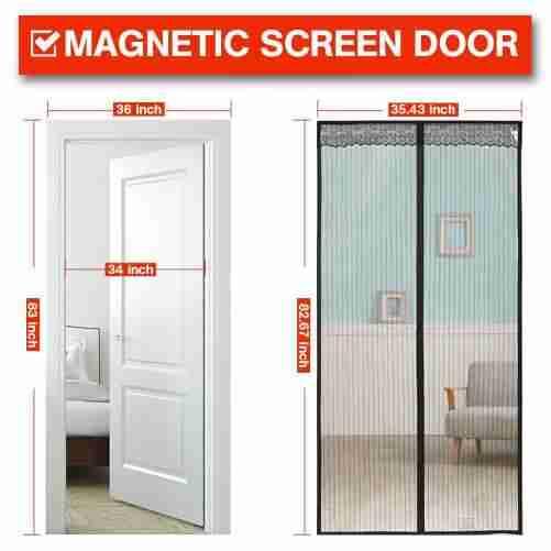 okri Magnetic Screen Door