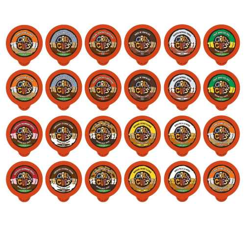 Crazy Cups Decaf Single Serve Flavored Coffee