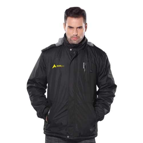 AdirPro Men's Soft Shell Heated Jacket Kit